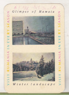 Romanian Small Calendar - Visit Rumania In Every Season 1966 - Calendriers