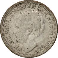 Pays-Bas, Wilhelmina I, 10 Cents, 1939, TTB, Argent, KM:163 - [ 8] Monnaies D'or Et D'argent
