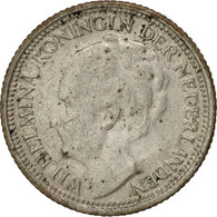 Pays-Bas, Wilhelmina I, 10 Cents, 1939, TTB, Argent, KM:163 - [ 8] Monedas En Oro Y Plata