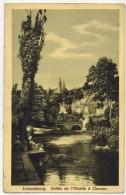 """LUXEMBOURG CLAUSEN : """" Vallée De L'Alzette """" - Plan Avec Deux Lavandières Près De L'Arbre - Postcards"""