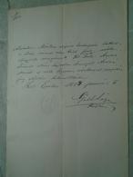 D137988.5  Old Document  Hungary  -Marton Abszolon - Mária Árvai   -EGER  1884 - Fiançailles