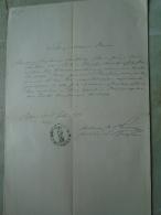 D137988.10 Old Document  Hungary  Stephan  Lazkóczy -Theresia Borostyánszky 1870 Pest - Engagement