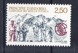 ANDORRA FRANCESA 1991.CAMPEONATO DEL MUNDO DE PETANCA   YVERT  Nº 407 SES225
