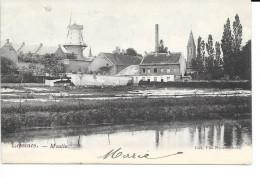Lessines - Moulin - Ed: Van Nieuwenhove - Circulé: 1904. - Lessines
