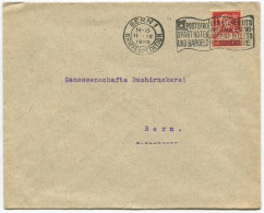 1519 - Perfin Beleg Der Schweiz. Volksbank In Bern