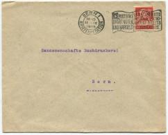 1519 - Perfin Beleg Der Schweizerischen Volksbank In Bern - Suisse