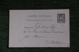 CARTE POSTALE - ENTIER POSTAL - Enteros Postales