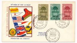 VIET-NAM - FDC UNESCO - 4-11-1961 - Saigon - Vietnam