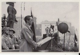 CPA WW2, ADOLF HITLER, SPEECH OF DR. GOEBBELS, GERMANY AWAKENS ALBUM 8, GROUP 28, IMAGE 127 - War 1939-45