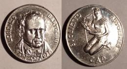 GETTONE MEDAGLIA TRASPORTI PRATO SERIE ZODIACO 1977 BIGLIETTO AUTOLINEE CAP - Monetary/Of Necessity