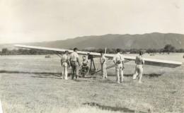 BELLE CARTE PHOTO  D UN PLANEUR - Avions