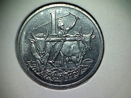 Ethiopie 1 Cent 1977 - Ethiopia