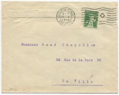 1522 - Perfin Beleg Der Firma Au Progrès In Chaux-de-Fonds - Briefe U. Dokumente