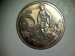 Ethiopie 5 Cents 1977 - Ethiopia