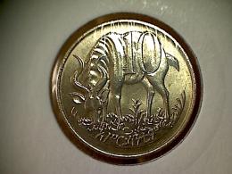 Ethiopie 10 Cents 1977 - Ethiopia