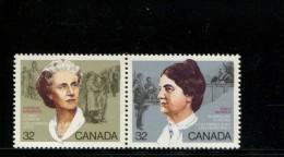 CANADA POSTFRIS MINT NEVER HINGED POSTFRISCH EINWANDFREI NEUF SANS CHARNIERE YVERT 906 907 - 1952-.... Regering Van Elizabeth II