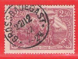MiNr.115 O Deutschland Deutsches Reich - Germany