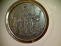 Ethiopie 50 Cents 1977 - Ethiopia