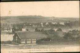 Le Camp Des Chasseurs Panoramique (carte N° 2) Côte Du 25e Bataillon - Au Loin : Les Roches - Saint Mihiel