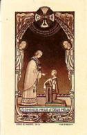 RELIGION       98       Image Pieuse  ( Communion à Fourmies , Georges Pruvot ) - Christianity