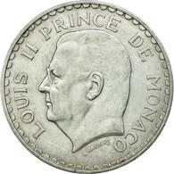 Monnaie, Monaco, Louis II, 5 Francs, 1945, TTB+, Aluminium, KM:122 - Monaco