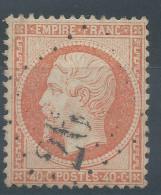 Lot N°30797  Variété/n°23, Oblit GC, Nuages De Points Blancs Autour De La Tête - 1862 Napoleon III