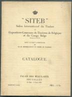 SITEB , Salon Internaitonal Du Timbre Catalogue Exposition 1935; Bruxelles, 1935, 73 Pp. Etat TB, Rare. - Filatelistische Tentoonstellingen