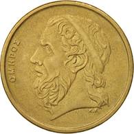 Grèce, 50 Drachmes, 1990, SUP, Aluminum-Bronze, KM:147 - Grèce