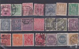 Lotje Duitse Reich   Kaart 581 - Timbres