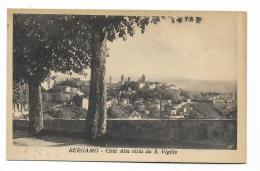 BERGAMO CITTA' ALTA VISTA DA S.VIGILIO VIAGGIATA FP 1946 - Bergamo