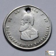 Bolivia - 1/4 Melgarejo - 1865 - Bolivie