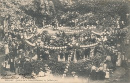 CPA 27 BERNAY Jardin De La Sous-Préfecture 14 Juillet 1903 Belle Animation - Bernay