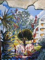 MARINE La Grande Motte 1993 - Acrylique Signée Située Datée - Acrilici