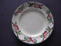 Assiette Longwy - Borden