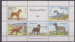 Ireland 1983 Fauna & Flora / Dogs M/s ** Mnh (30023A) - Blocchi & Foglietti