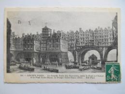 """CPA """"Ancien Paris - La Grande Joute Des Mariniers Entre Le Pont Au Change Et Le Pont Notre Dame"""" - Non Classés"""