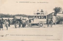 CPA 44 PORNICHET Très Belle Carte L'Auto Faisant Le Service Entre Pornichet Et Le Pouliguen - Pornichet