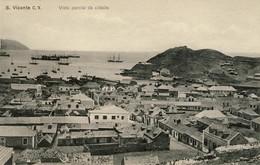 CABO VERDE, S. SÃO  VICENTE, Vista Parcial Da Cidade, 2 Scans - Cap Vert