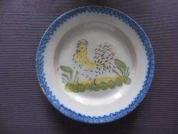 Assiette Charolles ,époque Hippolypte  Prost - Plates