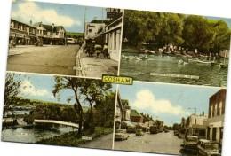 COSHAM  Multivues Recto Verso Timbre - Angleterre