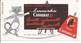 Buvard Cosserat 57. Le Nouveau Velours. - Textile & Vestimentaire