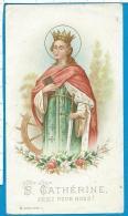 Holycard  B. Kuehlen  St.  Catherina - Imágenes Religiosas