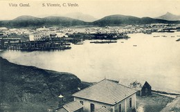 CABO VERDE, S. SÃO  VICENTE, Vista Geral, 2 Scans - Cap Vert