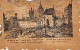 Vieux Paris - La Place Du Temple Sous Charles VI - Autres