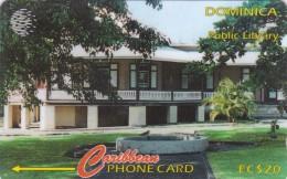 Dominica, 153CDMC, Library, 2 Scans. - Dominica