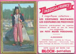 Pub BLOCH - Potalux  - Plaque En Tôle - Format 100 X 70 Mm - Costumes Militaires - SANS-CULOTTE - Advertising