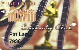 San Felipe´s Casino Hollywood - San Felipe, NM - Slot Card - Casino Cards