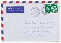 "Polynésie Française - Enveloppe 2009 Oblitérée ""Papeete R.P. Ile Tahiti"" - Polynésie Française"