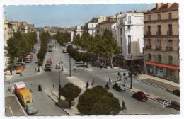 NANTES--Le Cours Des 50 Otages (voitures,camions),cpsm 14 X 9 N°1881  éd CAP......à Saisir - Nantes