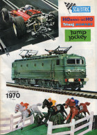 CATALOGUE TRAINS *SCALEXTRIC *HORNBY-ACHO *TRIANG Hornby *Jump Jockey - Books And Magazines